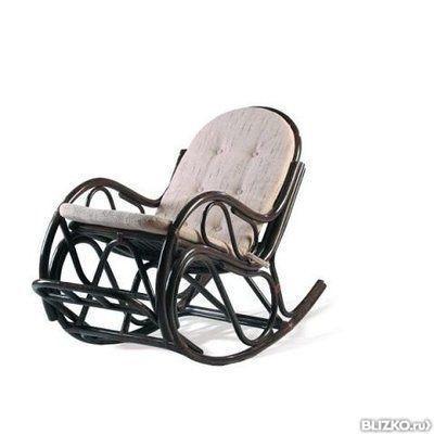 05 10 кресло качалка ротанг: