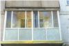 Остекление п/лоджии с крышей 2,8х1,2х1,8 kbe ст/п 32 мм, отк.