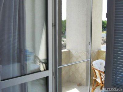 Сетка противомоскитная на дверь белая, 700мм*1200мм от компа.