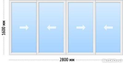 Остекление лоджий и балконов по типовым проектам в уфе. низк.