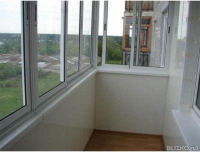 Раздвижные окна.