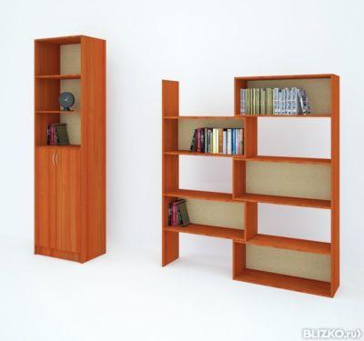 Стеллаж книжный 4 с, лдсп от компании амур мебель купить в г.