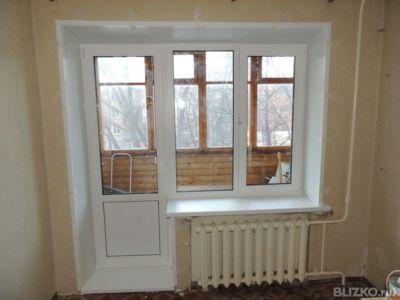 Замена/установка. балконная дверь (стандарт) панельный дом о.