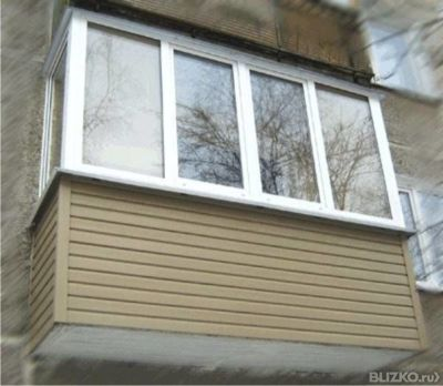 Остекление балкона 3 метра без выноса от компании добрые окн.