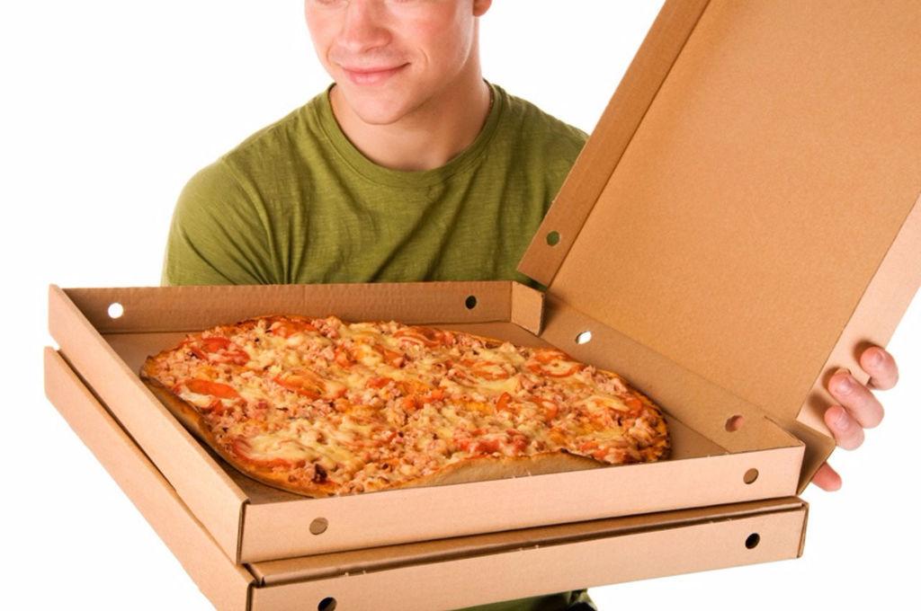 Отъимела доставщика пиццы #10